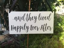wedding photo - and they lived Happily Ever After