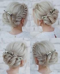wedding photo - 150   Gorgeous Wedding Hairstyle Ideas From Tonya Pushkareva