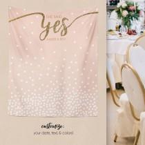 wedding photo - Wedding Backdrop, Engagement Backdrop, Bridal Shower Decorations, Bridal Shower Backdrop, Engagement Party Decorations/ W-G23-TP MAR1 AA3