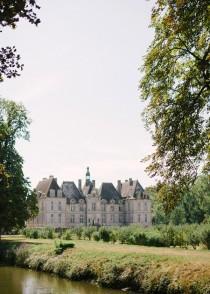 wedding photo - Fairytale French Chateau de Saint Loup Wedding - French Wedding Style