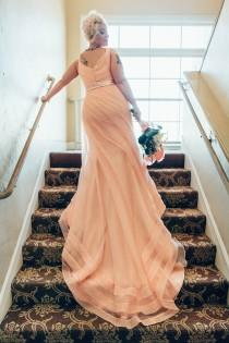 wedding photo - Blush & bashful: 21 pastel pink wedding dresses that are your new signature color