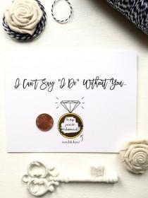 wedding photo - Scratch Off Be My Junior Bridesmaid? Ask Junior Bridesmaid Scratch Off Proposal Card