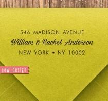 wedding photo - CUSTOM pre inked address STAMP from USA, custom address stamp, pre inked custom address stamp, return address stamp with proof - Stamp b5-3