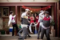 wedding photo - Bring everyone together with these collaborative non-dancing reception activities