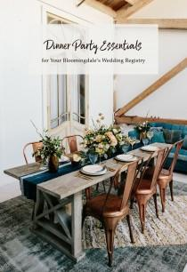 wedding photo - Dinner Party Registry Essentials