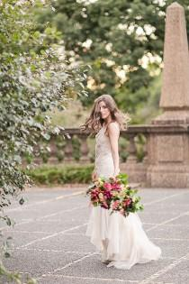 wedding photo - Vibrant Meridian Hill Bridal Portraits