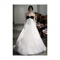 wedding photo - Vera Wang - Spring 2014 - Ivory And Black Sweetheart Ball Gown - Stunning Cheap Wedding Dresses
