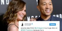 wedding photo - Not Even John Legend Is Safe From Chrissy Teigen's Trolling On Twitter