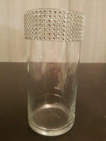 wedding photo - Rhinestone Vase - 7.5""