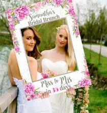 wedding photo - Bridal Shower Decorations Photo Prop Bridal Shower Favors Wedding Bridal Shower Gift for Bride Bridal Shower Banner Bridal Shower Sign