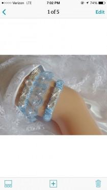 wedding photo - Something Blue Garters Wedding, Wedding Traditions Garter, French Lace Garter Set, Bridal Garter, Wedding Lingerie, Bling Garter, Garder