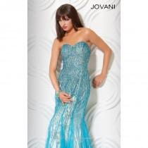 wedding photo - 2014 Cheap Beaded Evening Gown by Jovani Prom 7472 Dress - Cheap Discount Evening Gowns