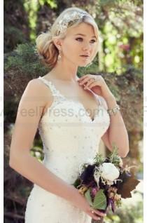 wedding photo - Essense of Australia Organza Wedding Dress Style D1779