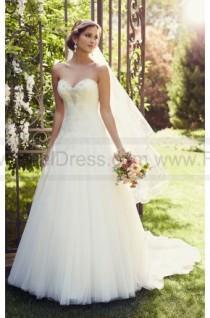 wedding photo - Essense of Australia A- Line Lace Wedding Dress Style D1866