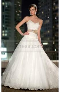 wedding photo - Essense Wedding Dress Style D1506 Tulle Satin A-Line Strapless