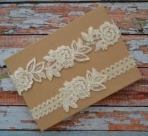 53545f4d426e Ivory Wedding Garter, Wedding Garter Set, Bridal Garter Belt, Lace Garter  Set, Lace Bridal Garter, Ivory Garter, Beaded Lace Garter,