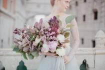 wedding photo - Elegant Venice Wedding Shoot With Pastel Details - Weddingomania