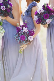 wedding photo - Lavender Bridesmaids