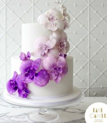 wedding photo - Faye Cahill Cake Design Wedding Cake Inspiration