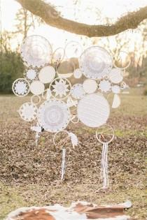 wedding photo - 30 Creative Ways To Use Doilies At Your Wedding - Weddingomania