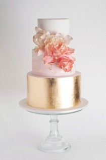 wedding photo - Beautiful Summer Wedding Cakes