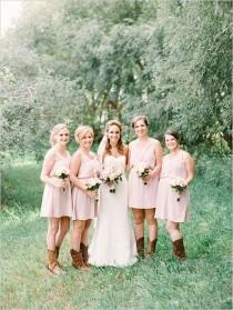 wedding photo - Country Meets Elegant Wedding