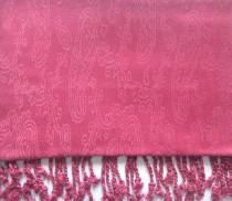 wedding photo - Crimson colour,Self Designed Pashmina Scarf, Wrap, Womens Clothing,Bridal Gift,Fashion Scarves,Wedding party function scraf,Womaen accessory