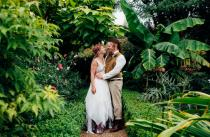 wedding photo - Boho Medieval Wedding With Archery And Snail Racing - Weddingomania