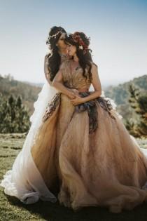 wedding photo - Faerie and Woodland Nymph Fantasy Wedding