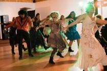wedding photo - A Thriller flash mob wedding
