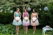 wedding photo - The bridesmaid tulle skirt look we heart