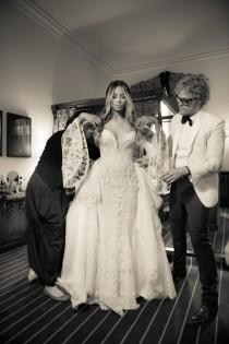 wedding photo - Find The Perfect Wedding Dress For Your Body Type (Like These Celeb Brides Did)