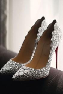 wedding photo - 24 Gorgeous Bridal Shoes For Stunning Brides