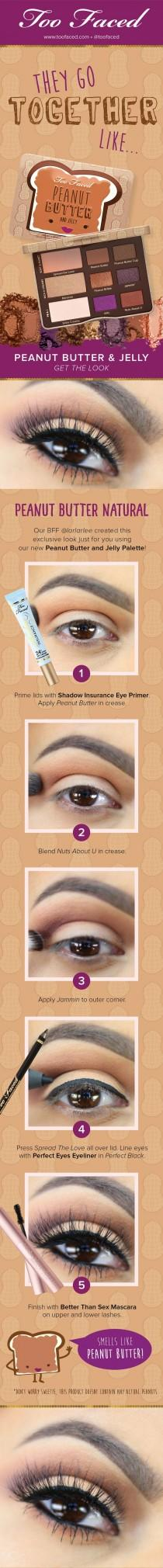 wedding photo - Peanut Butter And Jelly Eye Shadow Collection