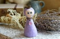 wedding photo - Tenderness // Homemaker // A talisman for the soul and the home // amulet is made in the technique of dry felting // bewitching magic images
