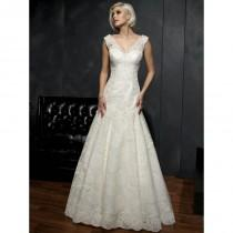 wedding photo - Kenneth Winston Wedding Dresses - Style 1521 - Formal Day Dresses