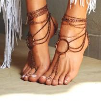 "wedding photo - Women Barefoot Sandal ""Ancient Rome"""