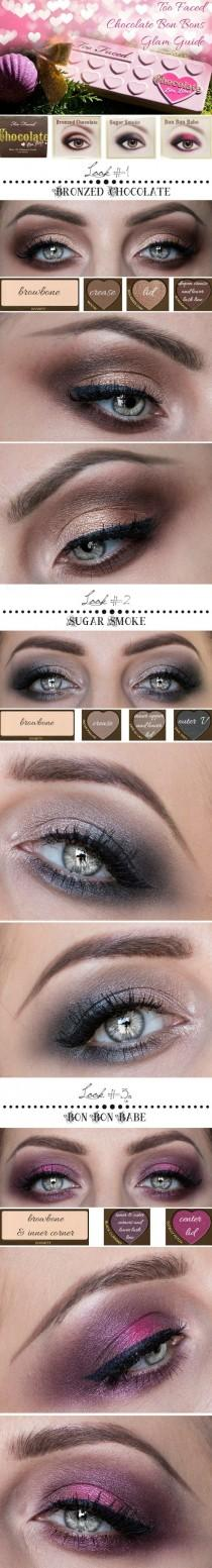 wedding photo - Too Faced Chocolate Bon Bons Glam Guide