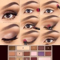 "wedding photo - Too Faced Cosmetics On Instagram: ""Love This Step-by-step Pictorial By @thecinemascoper And The Gorgeous Look She Created With Our Chocolate Bar Palette! #regram…"""