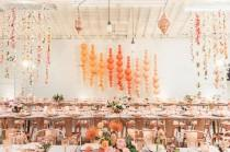 wedding photo - A Rose Gold Glam Dinner Party