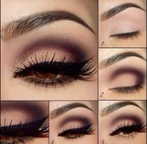 wedding photo - How To Apply Eyeshadow Step By Step For Brown Eyes - Google Search