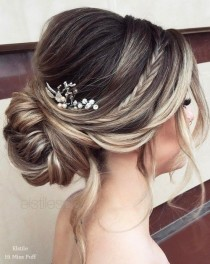 wedding photo - 50 Wow-Worthy Long Wedding Hairstyles From Elstile