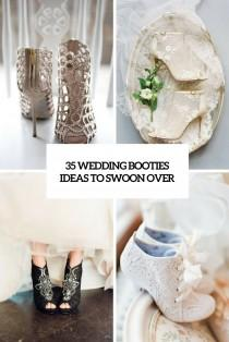 wedding photo - 35 Wedding Booties Ideas To Swoon Over - Weddingomania
