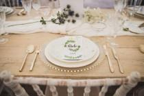 wedding photo - Boutique Marquees Green & White Bohemian Luxe Wedding Shoot