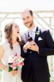wedding photo - A Spring-Inspired Wedding In Manitoba
