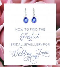 wedding photo - How To Find The Perfect Bridal Jewellery For Your Wedding Gown
