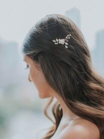 wedding photo - Crystal Hairpin