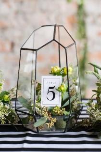 wedding photo - 50 Glam Geometric & Terrarium Wedding Ideas