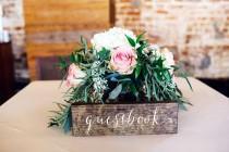 wedding photo - Guestbook Sign - Wedding Guestbook sign - wood guestbook - Wooden Wedding Signs - Sophia collection