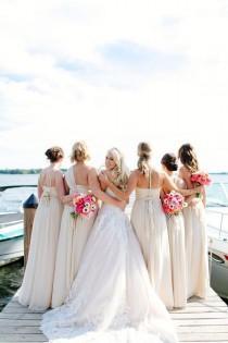 wedding photo - Modern Blush Wedding In Minneapolis